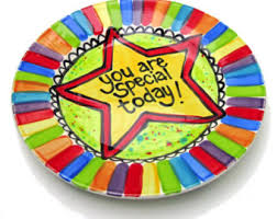 you are special plates special day plate etsy