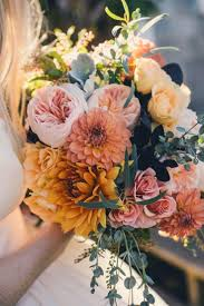 fall flowers for wedding growing flowers for wedding knots and kisses wedding stationery