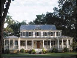 southern plantation style homes plantation style house plans plantation cottage home plan