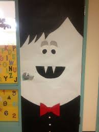 vampire classroom door decoration that i made up all on my very