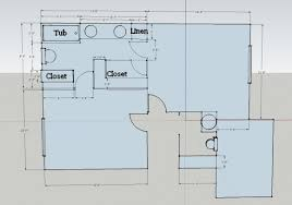 Jack And Jill Floor Plans Not So Jack And Jill Bathroom Plan Sawdust