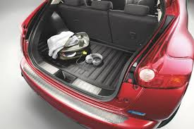 nissan genuine juke soft boot trunk liner tailored fitted rubber