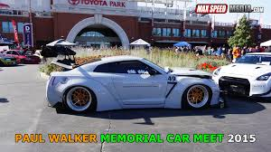 paul walker porsche fire paul walker memorial car meet 2015