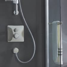 turano easybox slim thermostatic built in shower mixer with
