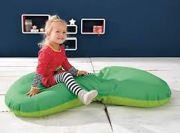 bubble bean bag green 024864