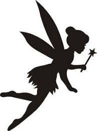 reusable mylar tinkerbell stencil template crafting canvas