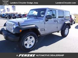 jeep granite crystal metallic clearcoat new jeep wrangler unlimited at landers chrysler dodge jeep ram