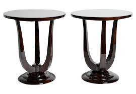 art deco style side table art deco side u0026 end tables dering hall