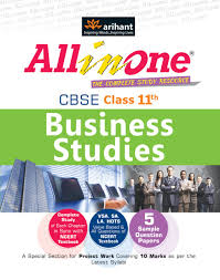 all in one cbse business studies class 11 1st edition buy