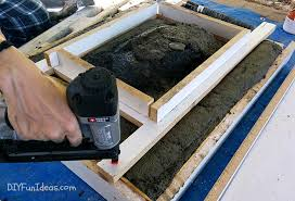 how to build a concrete sink how to make a concrete countertop or vanity with integral sink do