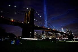 new york 9 11 s annual tribute in light beams in nyc
