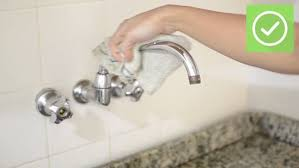 clean kitchen faucet 3 ways to clean a kitchen faucet wikihow