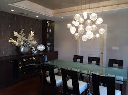 Chandelier Dining Room Lighting Nice Contemporary Dining Room - Chandelier for dining room