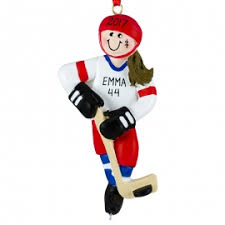 hockey ornament personalized ornaments for you