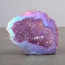 aura crystals wholesale healing natural aura quartz geode crystal geode buy aura