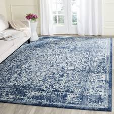 Navy Kitchen Rug Area Rugs Popular Kitchen Rug Indoor Outdoor Rug In Blue And Ivory