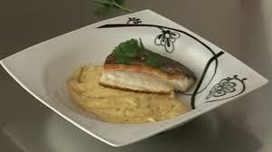 cuisiner du bar recette pavé bar au gingembre et patates douces poisson