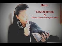 haul pre thanksgiving outlet sale maison martin margiela for
