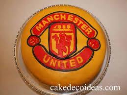 manchester united cake cake deco ideas