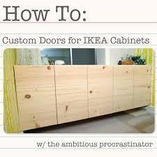Ikea Kitchen Cabinet Doors Custom Modern Cabinets - Custom doors for ikea kitchen cabinets