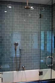 glass tiles bathroom ideas blue glass tile shower ecda2015 com