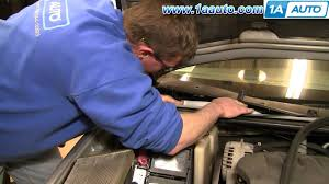 how to install repair replace cabin air filter chevy impala 00 05