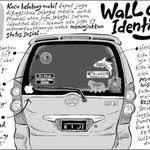 Meme Mobil - hehehe 5 jenis stiker kocak yang biasa ditemuin di mobil orang