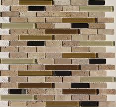 Interior  Sticky Backsplash Tile Pieces Peel And Stick Kitchen - Adhesive kitchen backsplash