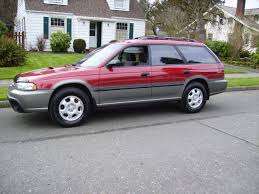 subaru red 1997 subaru outback in red awd auto sales