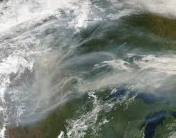 Wildfire Smoke Seattle by Smoke From Wildfires Travels To The Midwest Nasa