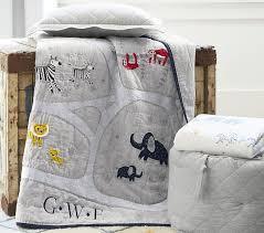 organic owen animal safari crib fitted sheet pottery barn kids