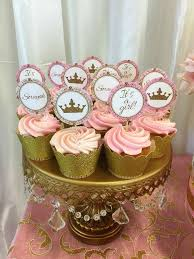 gold and pink baby shower pink and gold girl baby shower cupcakes cupcakes gallery