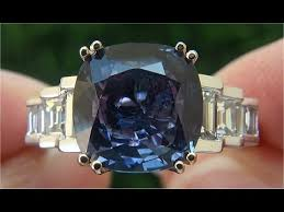 chagne diamond engagement ring certified unheated vvs color change sapphire diamond