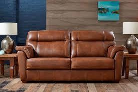 Aspen Leather Sofa Ashwood Sofas Functionalities Net