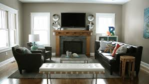 living room cool designing living room around fireplace