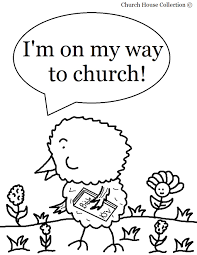 easter coloring page for sunday