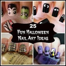 25 fun halloween nail art ideas babble