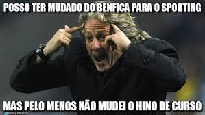 Sporting Memes - posso ter mudado do benfica para o sporting on memegen
