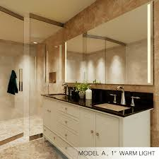 mirror with integrated light