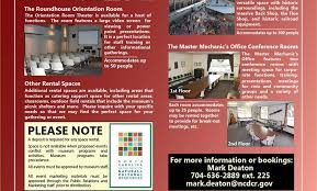 North Carolina Travel Programs images Nc transportation museum rental of site facilities jpg