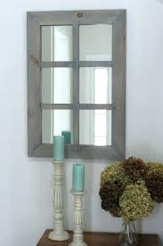 belle maison window pane wall mirror arched mesmerizing white