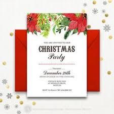 printable christmas party invitations free templates printables