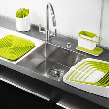 Clever Designs That Reinvent The Humble Dish Drying Rack - Kitchen sink with drying rack