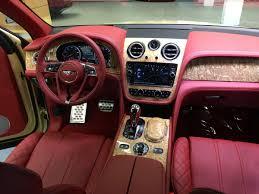 2017 bentley bentayga red interior earl karanja on twitter