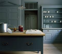 image result for dark units dark walls kitchen petrol blue