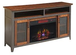 landis infrared electric fireplace entertainment center in old