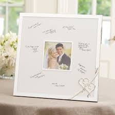 wedding autograph frame lenox true wedding guest book frame wedding guest book