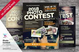 photo contest flyer templates by kinzishots graphicriver