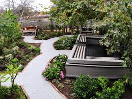 Walkway Ideas For Backyard Backyard Front Walkway Plant Ideas Inexpensive Sidewalk Ideas
