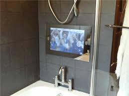 Tv Mirror Bathroom Tv In Mirror Bathroom Complete Ideas Exle